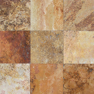 Autumn Cross Cut Travertine Durango Stone