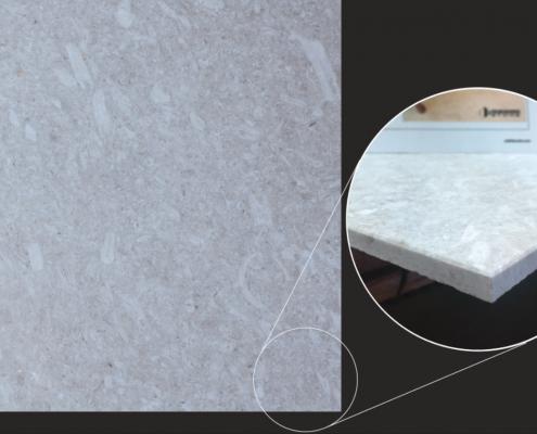 Durango Stone Limestone Perle Blanc Honed and Filed