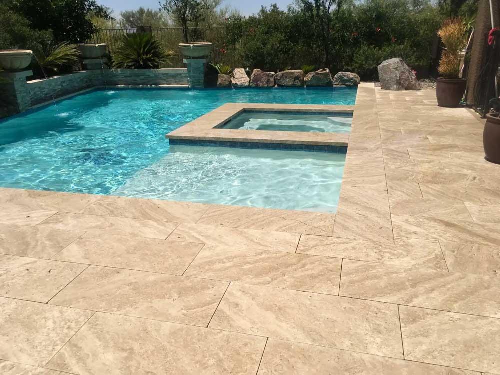 Durango Stone Ilano Pool Deck