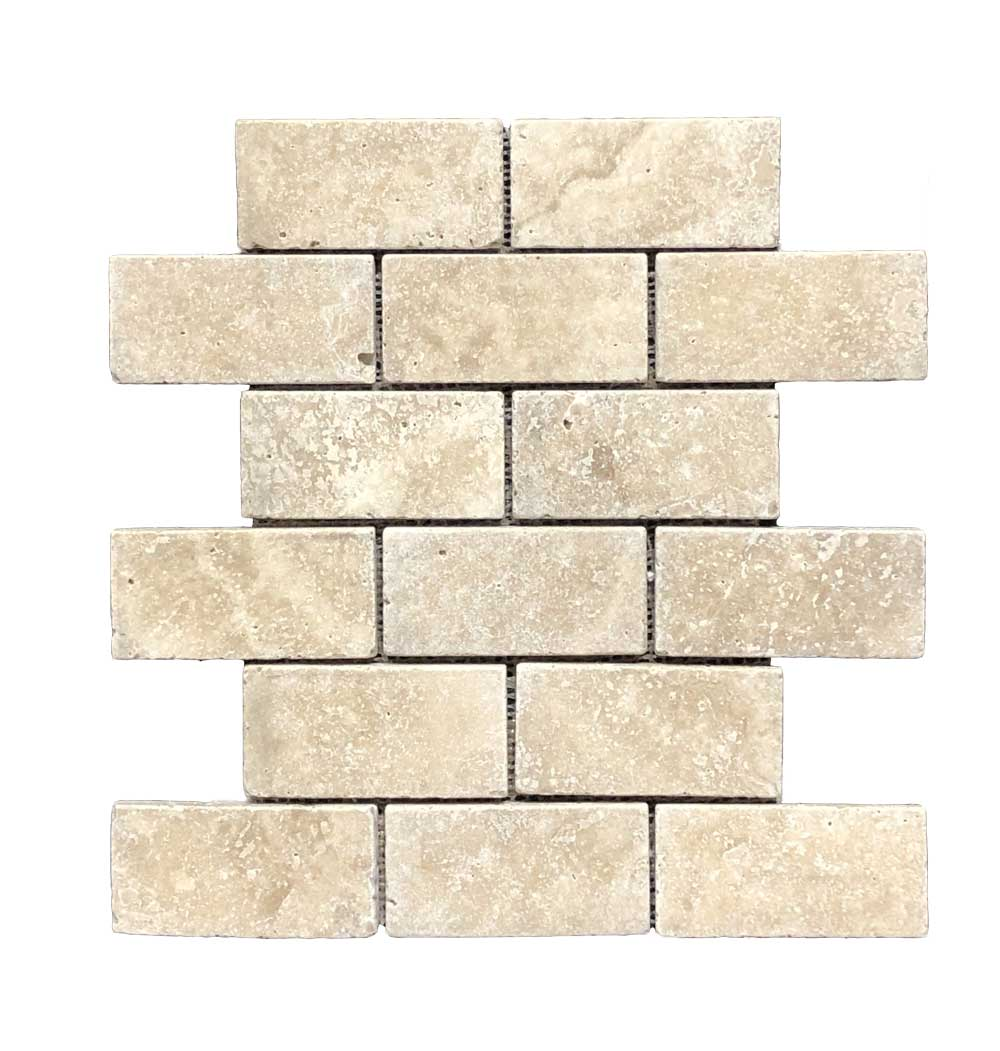 Durango Stone Mesh Mount Brick Noche