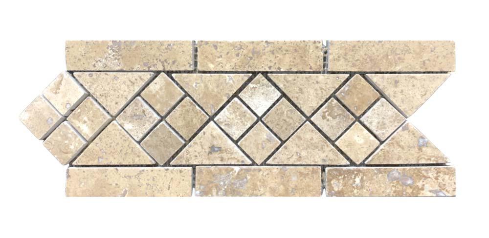 Durango Stone Montage Deco Strip