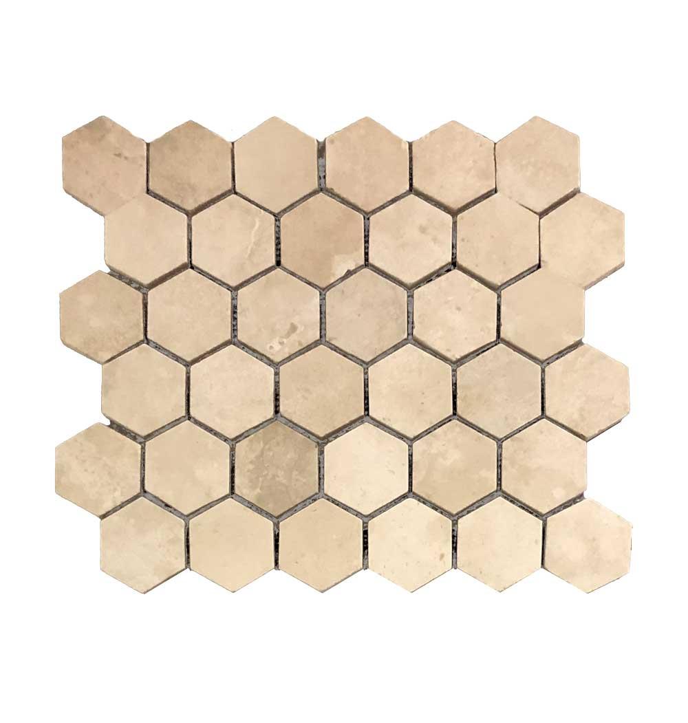 Durango Stone Hexagon Meshmount
